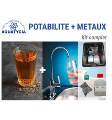 Kit potabilité + métaux